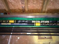 Maver Resolution 14.5m Pole + 3 Top Sections + Cupping Kit