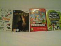 wii games £2 each. (sold separately)