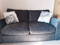 Sofa bed - dark grey (charcoal) - like new