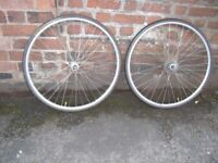 Front and Rear 28'' CHRINA Ridida Wheels with good Tyres