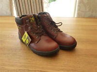 Sterling Safety Work Boots Size 12 New in Box with Labels
