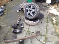 Renault Clio Alloy wheels with tyres