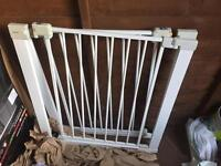Two safety metal gate were on sale
