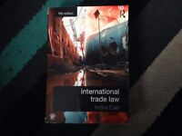 International Trade Law by Indira Carr 9780415659253 like new condition