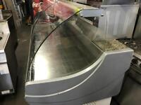 Serve over counter display fridge cold display fridge commercial catering kitchen equipment