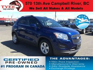2015 Chevrolet Trax LT Rear Camera/Bluetooth/Parking Sensors