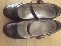 Idealista brown leather woman shoes uk 7