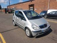 MERCEDES A140 CLASSIC SE SWB AUTO 2 KEEPERS 2003REG FOR SALE