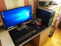 Gaming PC, intel i5 4590, RX550, 8GB RAM