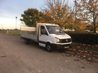 VOLKSWAGEN CRAFTER 2.0 TDI CR35 Dropside Truck 2dr (LWB) (white) 2011