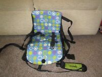 Munchkin Travel Booster Seat - used but good condition