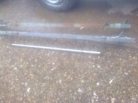 mk6 ford transit roof bars with ladder roller
