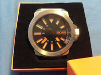 Boss Orange Mens Large Face Watch (Boxed with Manual)