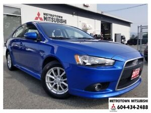 2015 Mitsubishi LANCER SPORTBACK SE LTD; Local BC vehicle! CERTI