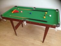 Childs size Snooker Table