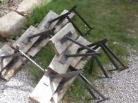 PLATFORM IRONS FOR ROOFING (or Dogs)