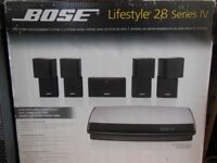 Bose Lifestyle 28 Series IV Home Theatre System with VS2 Video Enhancer, WHITE