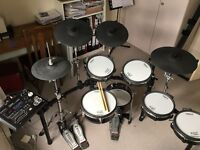 Roland V Drums TD30K electronic drumkit for sale (with extra cymbals & toms).