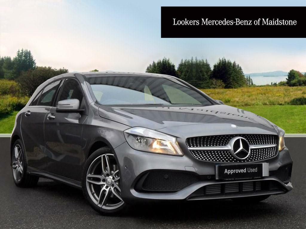 mercedes benz a class a 180 d amg line executive grey. Black Bedroom Furniture Sets. Home Design Ideas