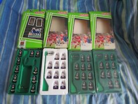 4 Subbuteo Lightweight Teams West Ham 63743 712 752 & 752 - Four different kit variations