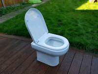 Cityspace WC pan with soft close seat