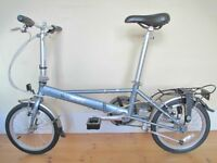 Dahon Folding Bike With Accessories, Has Minimal Use & In Excellent Condition