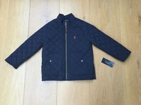 Boys Ralph Lauren Polo Quilted Jacket age 5