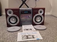 phillips dvd surround sound hifi system with dvd player