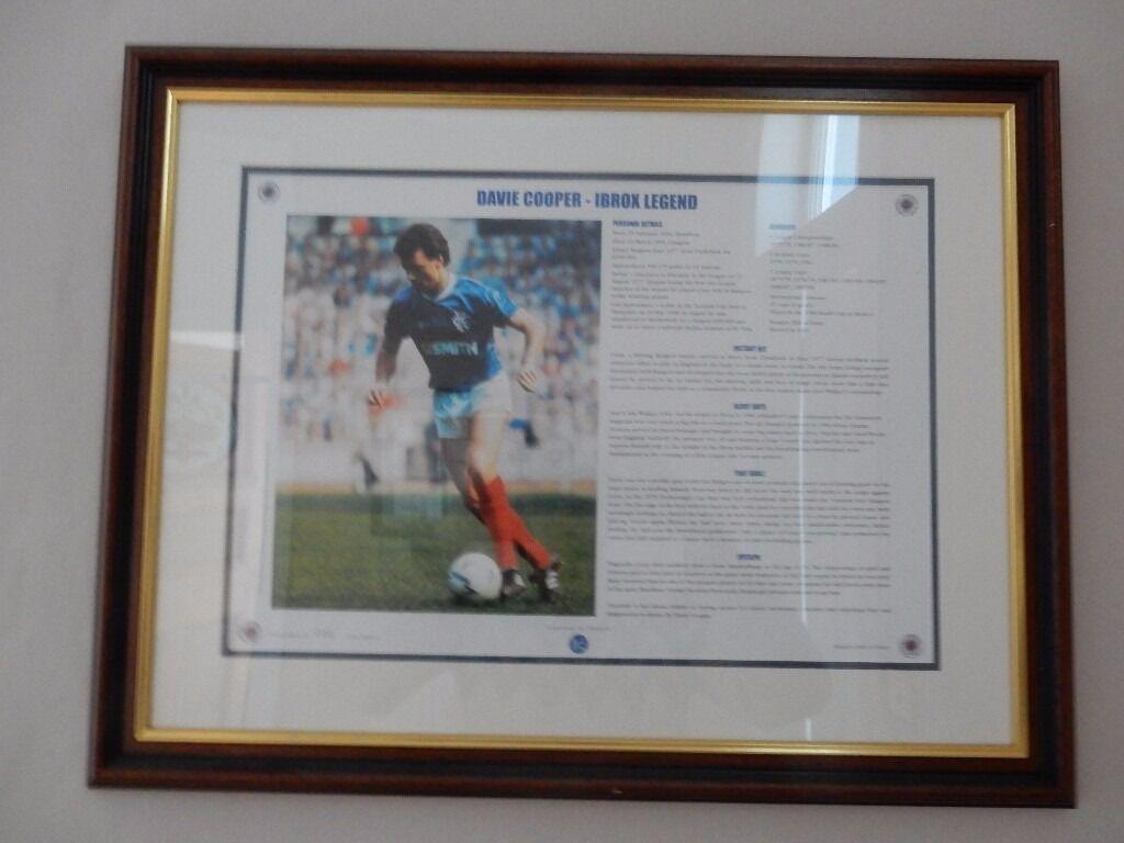 Rangers Legends Davie Cooper