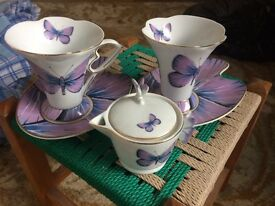 Pretty cups and saucers