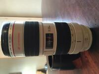 Used Canon 70-200 f2.8 is usm lens