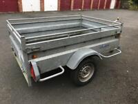 Lider single axle trailer