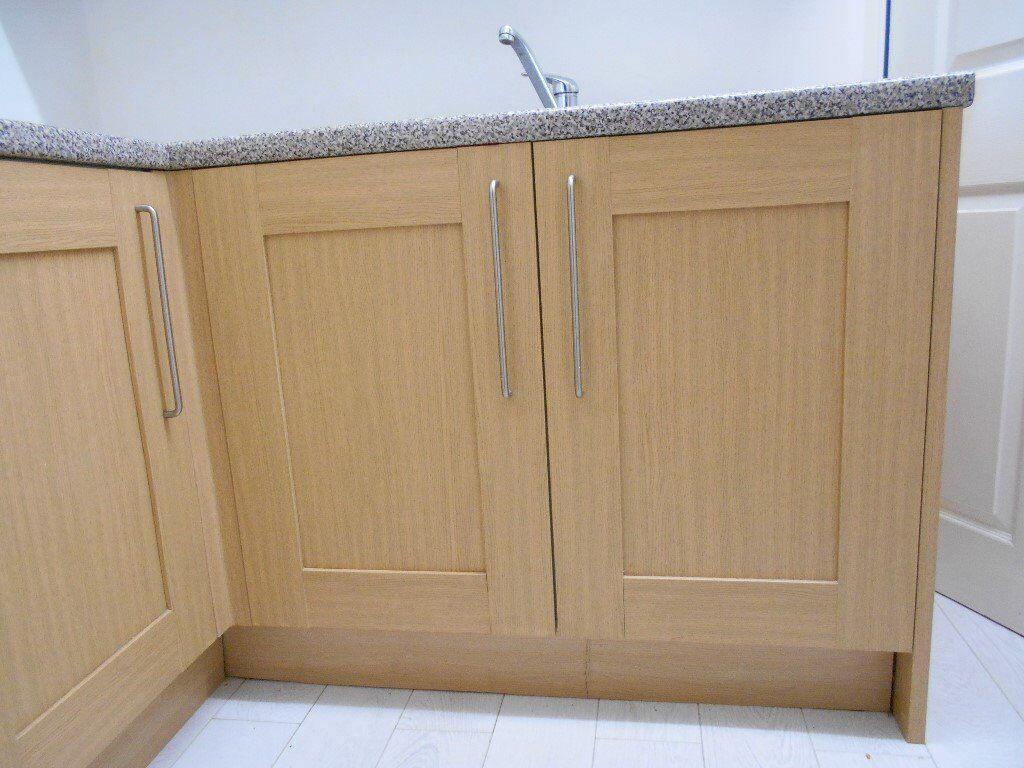 Kitchen Floor Units Kitchen Floor And Wall Units Alb150 The Lot In Brackla Bridgend