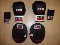 Pro Fitness Deluxe Boxing Set - £10