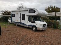2007 Ford Transit Motorhome Twin Wheel 6 BERTH Huge spec too much to list! LOW MILEAGE IMMACULATE