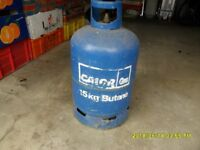 Butance gas bottle