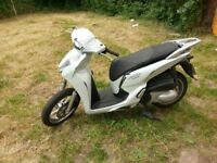 Honda sh 300 2017 reg. damaged, spare or repair. 2254 miles only.