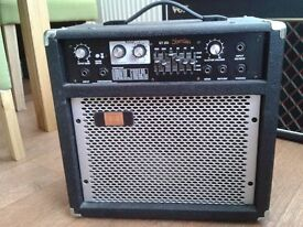 Sheridan GT20 guitar amplifier with user manual - £45 ono
