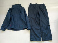 Dunlop Water Resistant Golf Jacket Ladies Size 16 UK + Golf Trousers Size 18