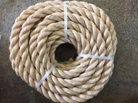 32mm decking rope x 15 metres, garden rope, outdoor rope, decking projects, diy rope, brand new
