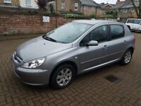 2005 Peugeot 307 Auto Automatic, 1.6 petrol, 1 year MOT, 1 Owner, Good condition