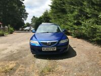 Automatic mazda 6 TS2 for sale, MOT, leather interior, drives perfect.