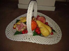 Porcelain Fruit Displays