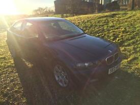 Bmw 320 compact /diesel /private plate/tow bar/50 mpg