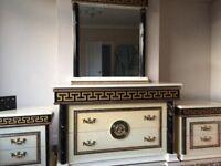 Italian furniture drawers mirror