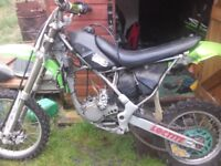 Kawasaki kx85 small wheel spares or repairs