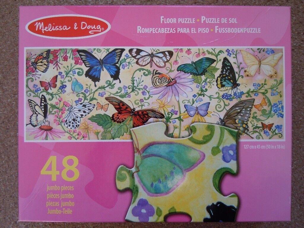 Melissa&Doug Butterfly Bliss Floor Puzzle