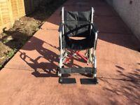 Folding Lightweight Wheelchair, Excellent Condition