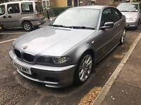 2003 ORIGINAL FACELIFT BMW 318CI M-SPORT GREY MANUAL ORIGINAL M sport MV2 Alloys