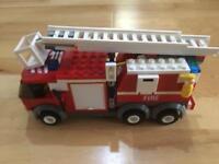 LEGO City Fire Truck 7239
